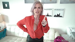Kinky mother is sucking locate like a real pro, because it feels so fucking good