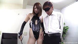 Horny babe Seira Matsuoka loves effectuation with a friend's pecker