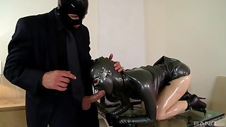 Amazing subjection and latex amulet sex with sultry Lucy Latex