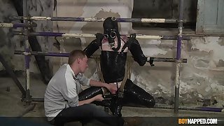 BDSM in extreme careless scenes of a submissive twink