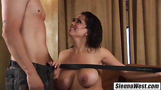 Escort Seduces Married Man Swallows His Cum After Shower With Sienna West With the addition of Chris Johnson