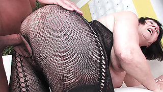 68 maturity old grandma first time broad in the beam cock fucked